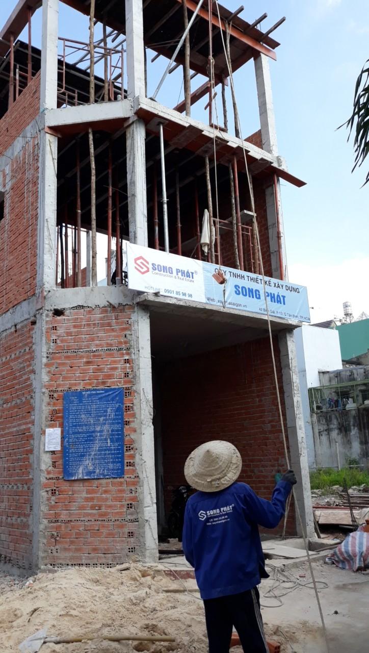Thi công hoàn thiện nhà xây thô