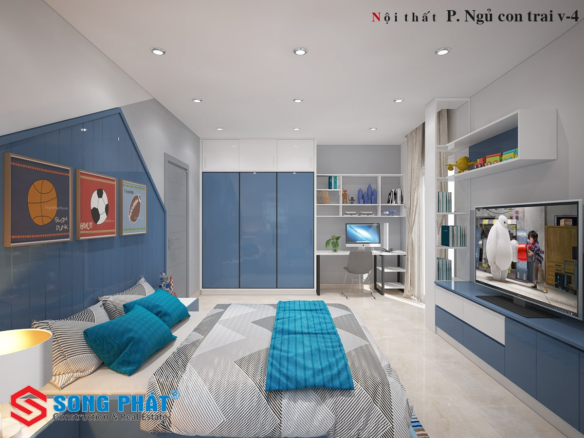 hoàn thiện nội thất nhà liền kề