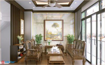 Khám phá thiết kế nội thất nhà ống 5 tầng đẹp tại Tân Phú