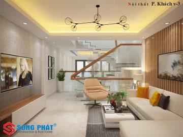 Mẫu thiết kế nội thất đẹp của căn nhà phố 5 tầng tại Gò Vấp