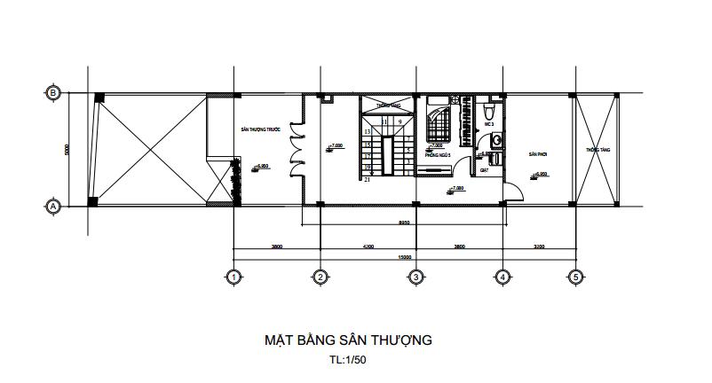 nội thất nhà 3 tầng