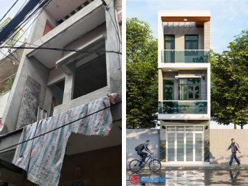 Giải pháp cải tạo nhà phố 1 trệt 2 lầu với chi phí 400 triệu