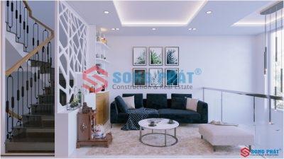 Khám phá giải pháp hoàn thiện nội thất hiện đại nhà 5 tầng 45m2