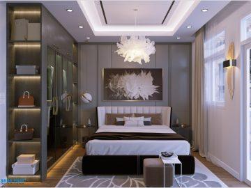 Thiết kế nội thất nhà đẹp 3 phòng ngủ cho gia đình trẻ