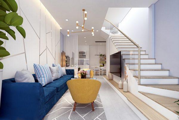 : mẫu phòng khách nhỏ 2020