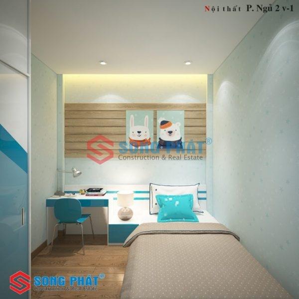 nội thất nhà 40m2