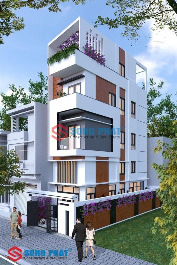 nhà phố 4 tầng 2020