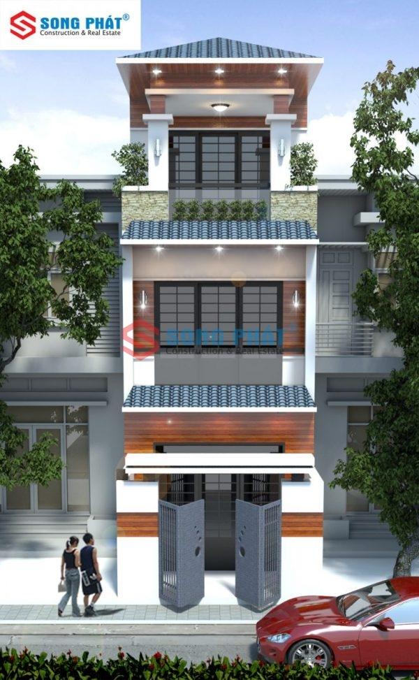 thiết kế nhà có giếng trời
