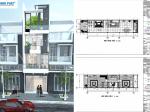 Phương án xây dựng nhà 4 tầng 4 phòng ngủ với chi phí 1 tỷ