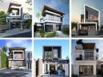 Mẫu bản vẽ thiết kế nhà 2 tầng tiện nghi và thẩm mỹ