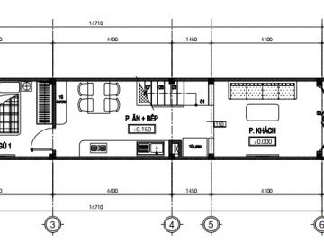 Tìm phương án xây dựng nhà 3 tầng tại khu vực ngập nước Bình Tân?