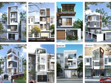 30+ mẫu mặt tiền nhà phố đẹp cho năm 2020 với xu hướng hiện đại