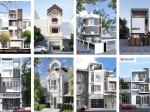 22 mẫu mặt tiền nhà mặt tiền 5m đẹp theo kiến trúc 2020 thời thượng