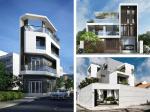 10 mẫu biệt thự phố đẹp theo đuổi lối kiến trúc hiện đại 2020