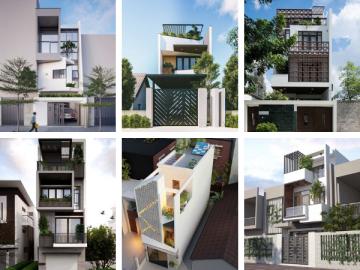 10 mẫu nhà lệch tầng hiện đại phù hợp xu hướng thiết kế 2020
