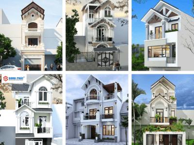 Khám phá 10 mẫu nhà ống 3 tầng mái thái đẹp 2020