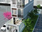 Giải pháp thiết kế biệt thự phố 4 tầng diện tích 115m2 có sân vườn