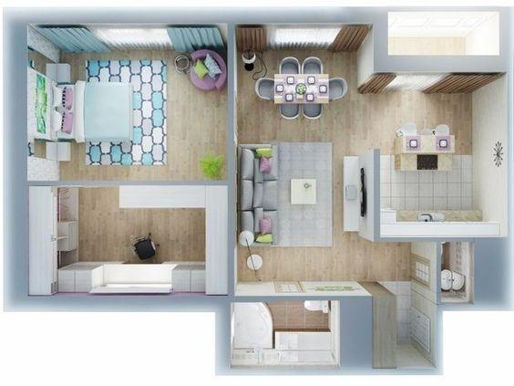 ý tưởng không gian chung cư