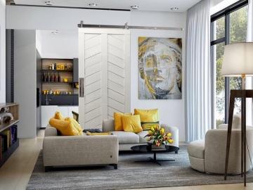 Ý tưởng trang trí phòng khách chung cư đẹp, sang mà lại ít tốn kém