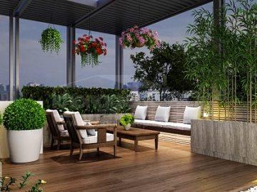 20+ ý tưởng trang trí sân vườn nhà phố đẹp theo xu hướng mới 2020