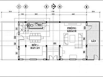 Khám phá bản vẽ thiết kế nhà 6x12m 3 tầng khoa học và hiện đại