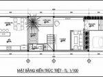 Giải pháp thiết kế mặt bằng nhà 3 tầng hướng tây tránh nóng