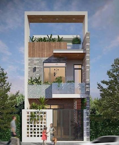 ý tưởng xây dựng nhà 3 lầu đẹp