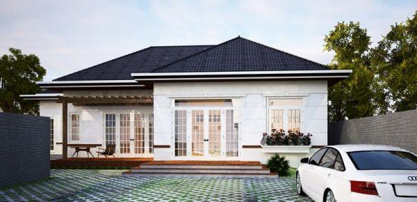kiểu mái nhà đẹp