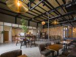 12 mẫu thiết kế quán café khung thép đẹp 2021