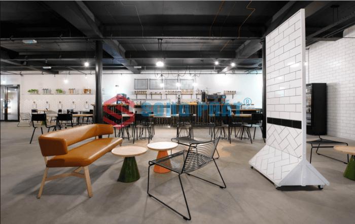 thiết kế quán café không gian sáng tạo