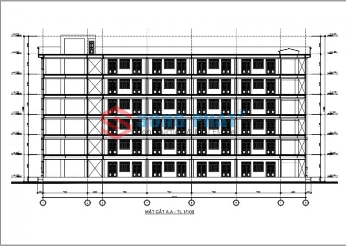 thiết kế trường học bằng khung thép