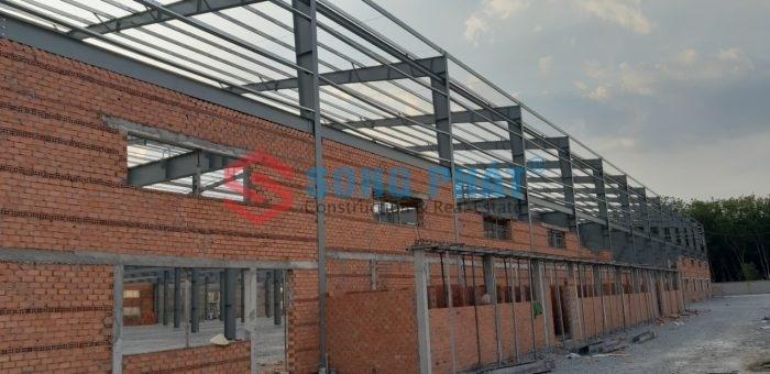 Kết cấu nhà thép tiền chế 2 tầng