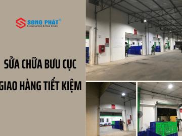 Thi công sửa chữa bưu cục giao nhận hàng tại Phú Nhuận