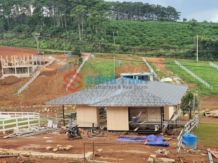 xây dựng homestay khung thép